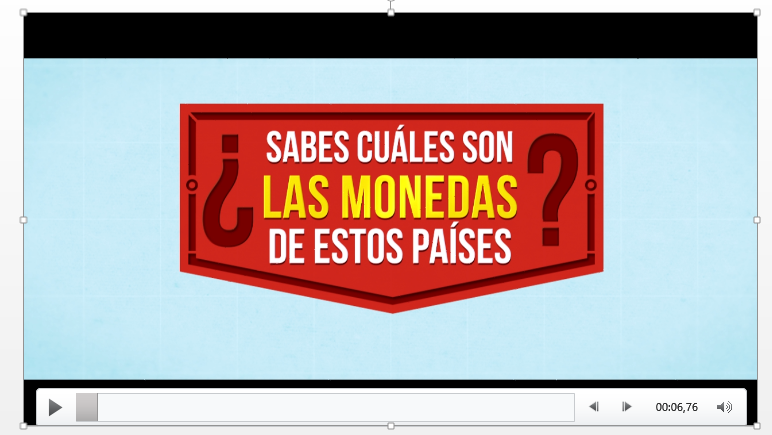 El video quedará alojado en tu presentación y listo para reproducirse.