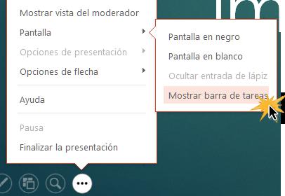 Al ver la barra de tareas podrás acceder a otros programas de tu computador.