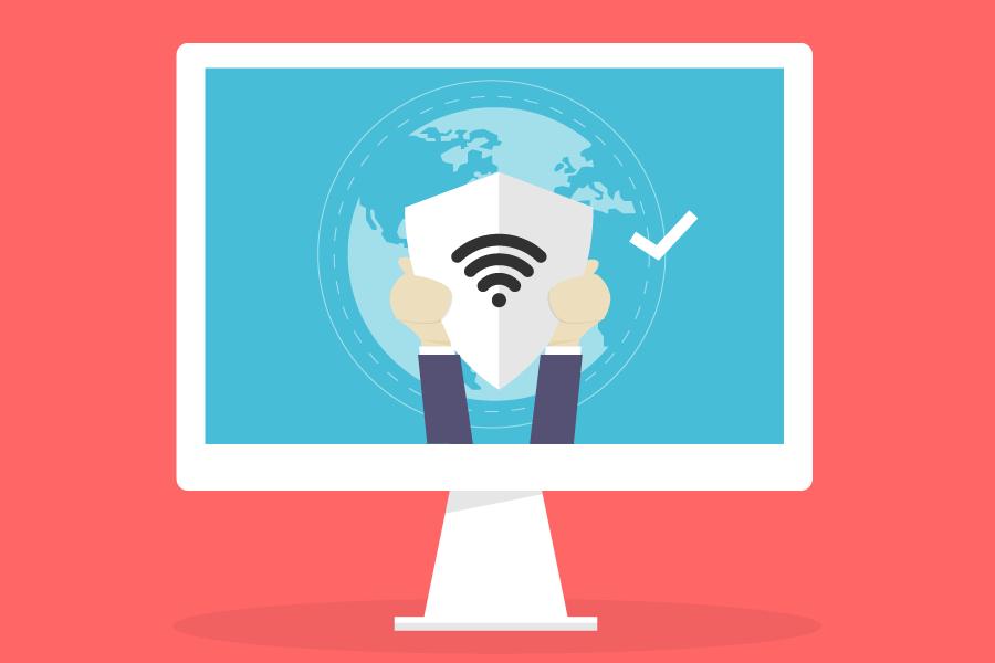 Una de las mejores formas de mantenerse protegido en  internet es por medio de antivirus.