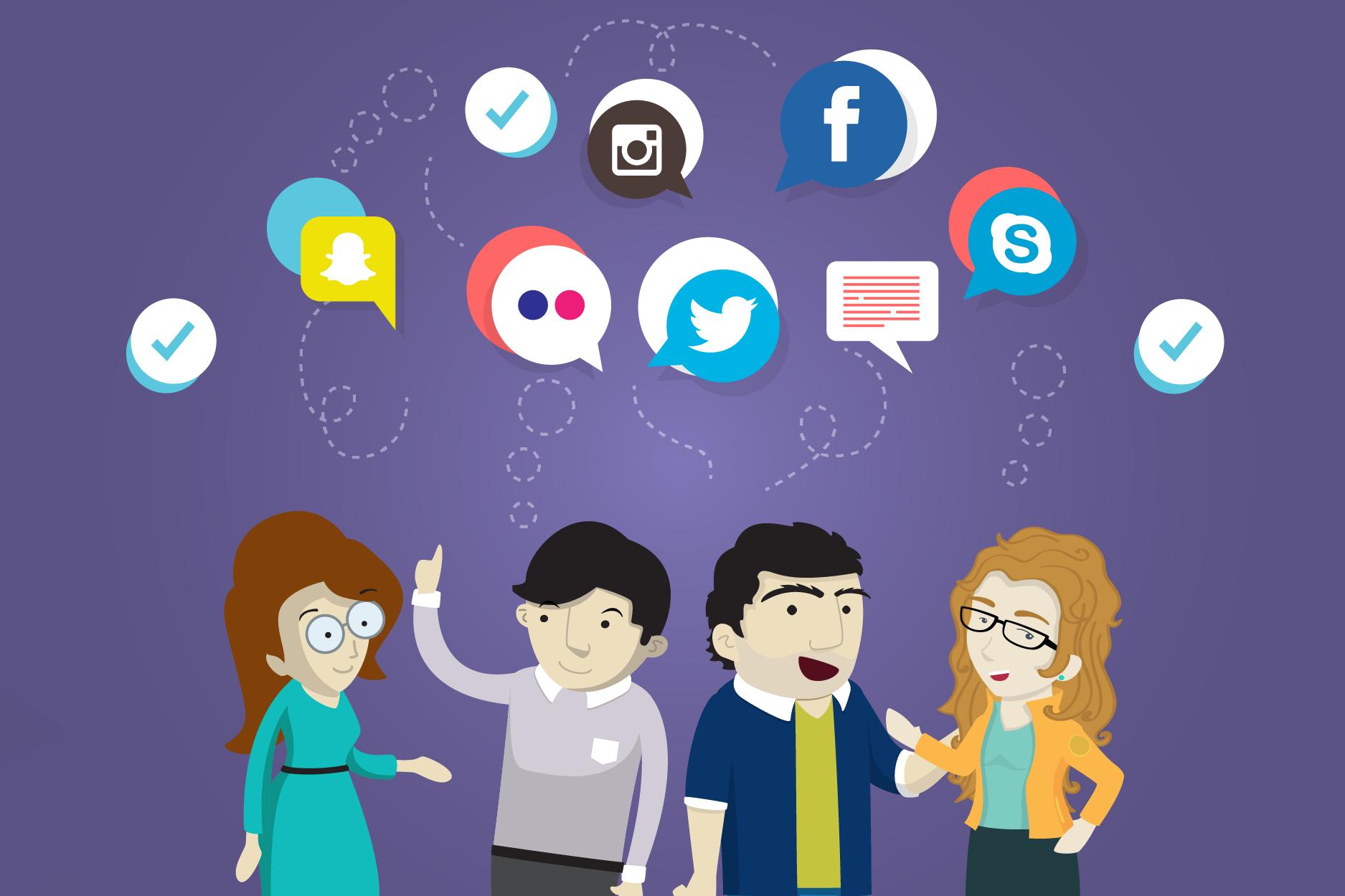 Toma todas las medidas necesarias para protegerte en redes sociales.