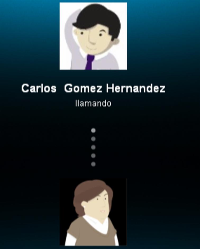 Llamada entre Lola y Carlos.