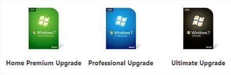 Versiones de Windows 7
