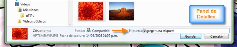 Añadir Etiquetas a ciertos archivos