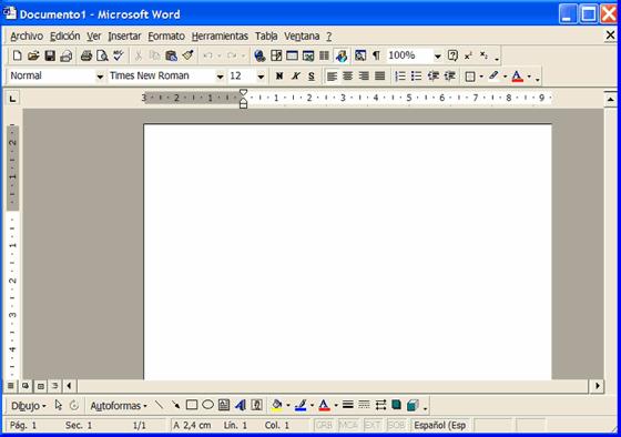vista Word en Windows XP