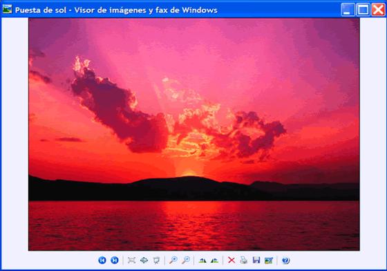 Visor de imagenes de Windows